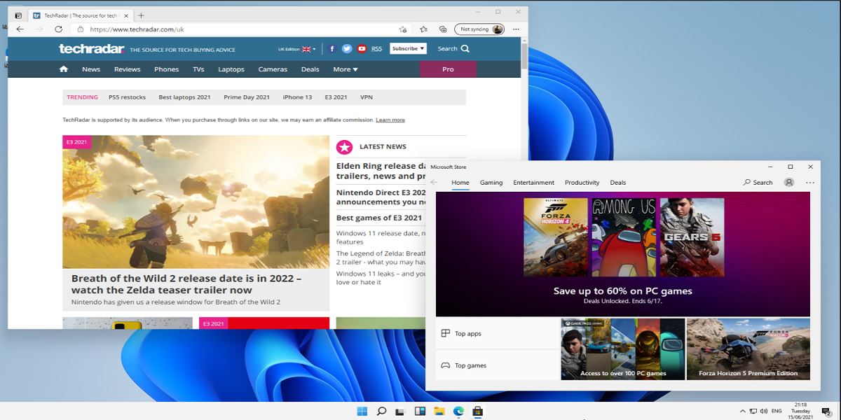 Windows 11 has been leaked, and it resembles Windows 10X