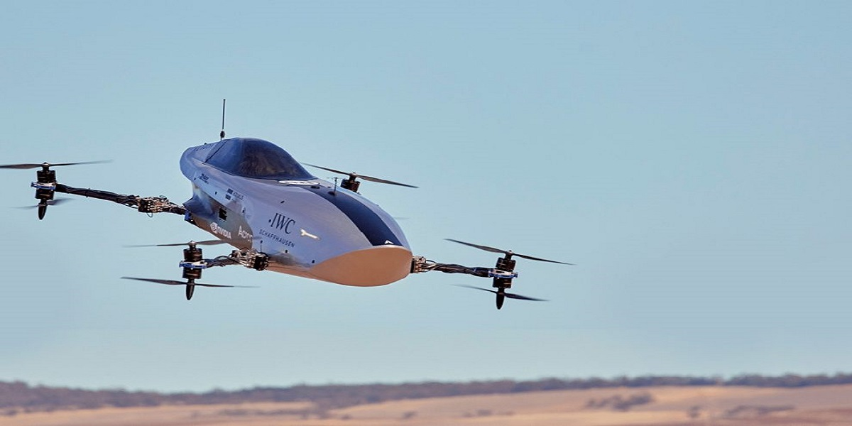 Airspeeder successfully completed the first test flight for electric flying race