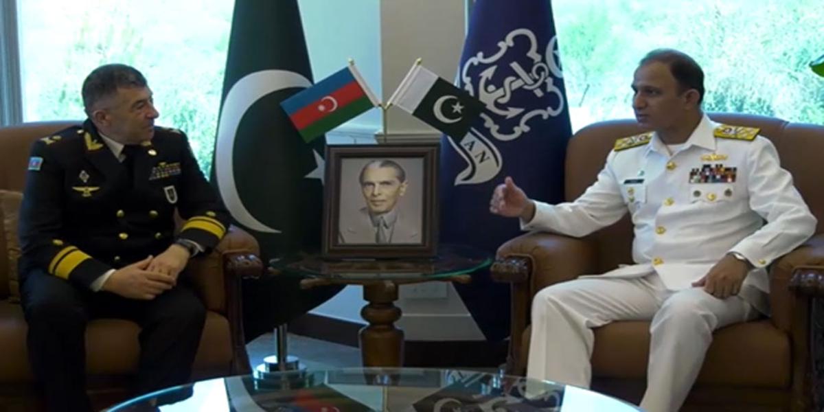 CNS Niazi meets Commander Azerbaijan