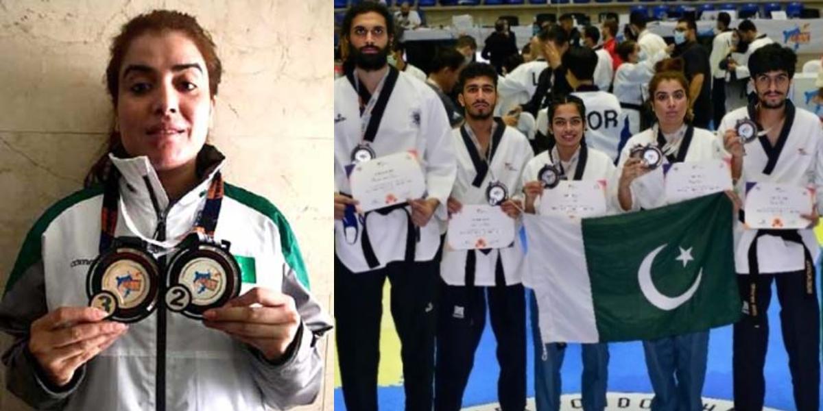 Najia Rasool Asian Taekwondo