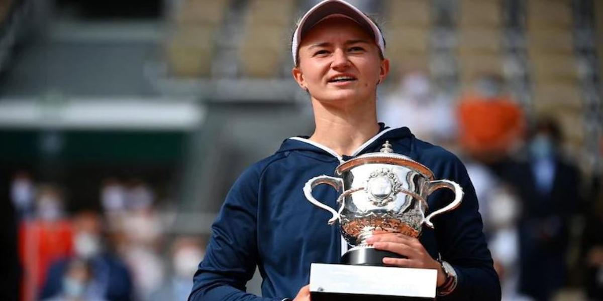 Barbora Krejcikova Frech Open Grand Slam Title