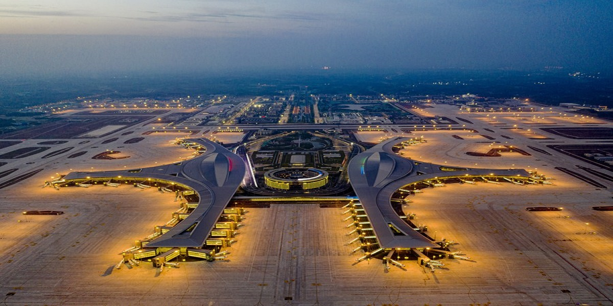 Tianfu International Airport, China's Third Largest Airport, is now Operational
