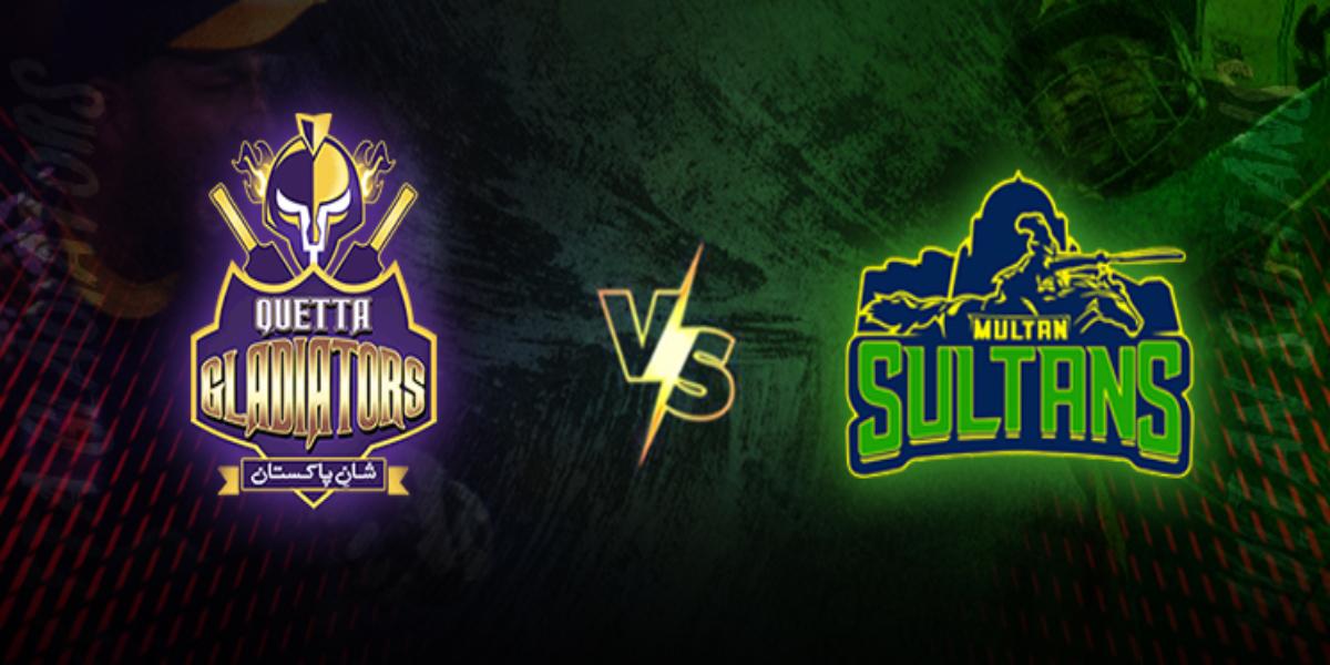 PSL 2021 Gladiators vs Sultans