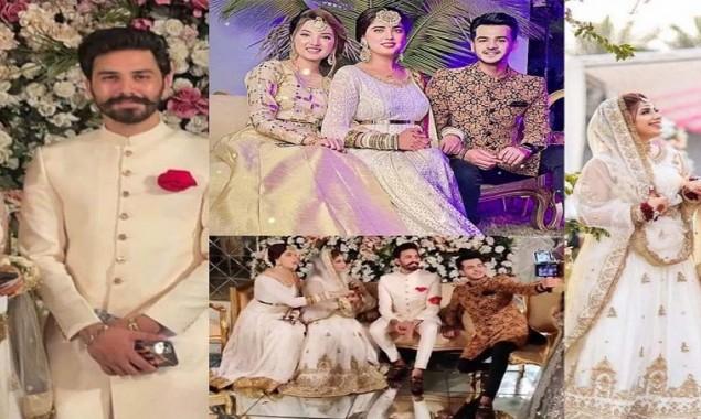 Dr madiha khan and Mj Ahsan Wedding Pictures