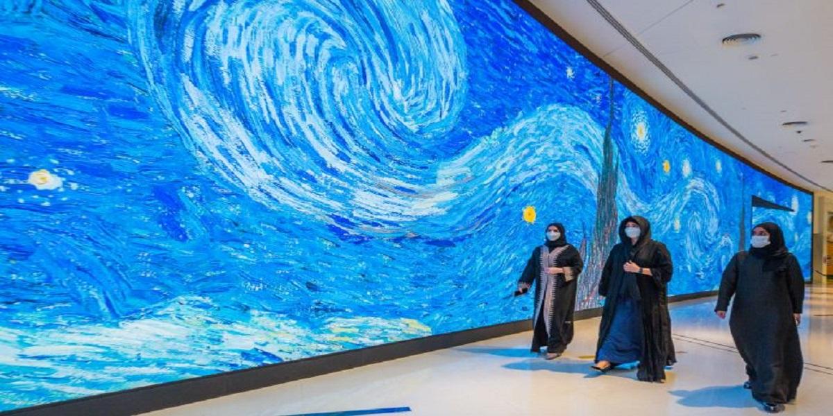 Dubai opens region's largest immersive digital art gallery
