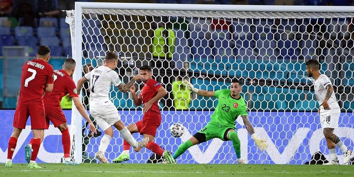 Euro 2020 Italy defeated Turkey