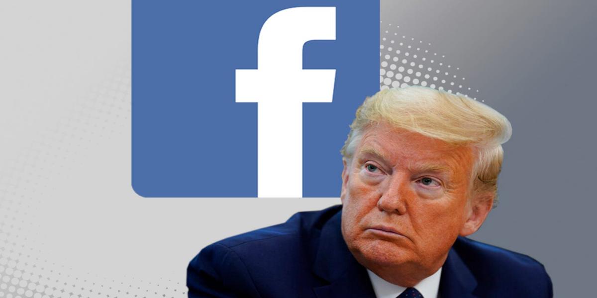 Facebook Suspends Donald Trump's Account