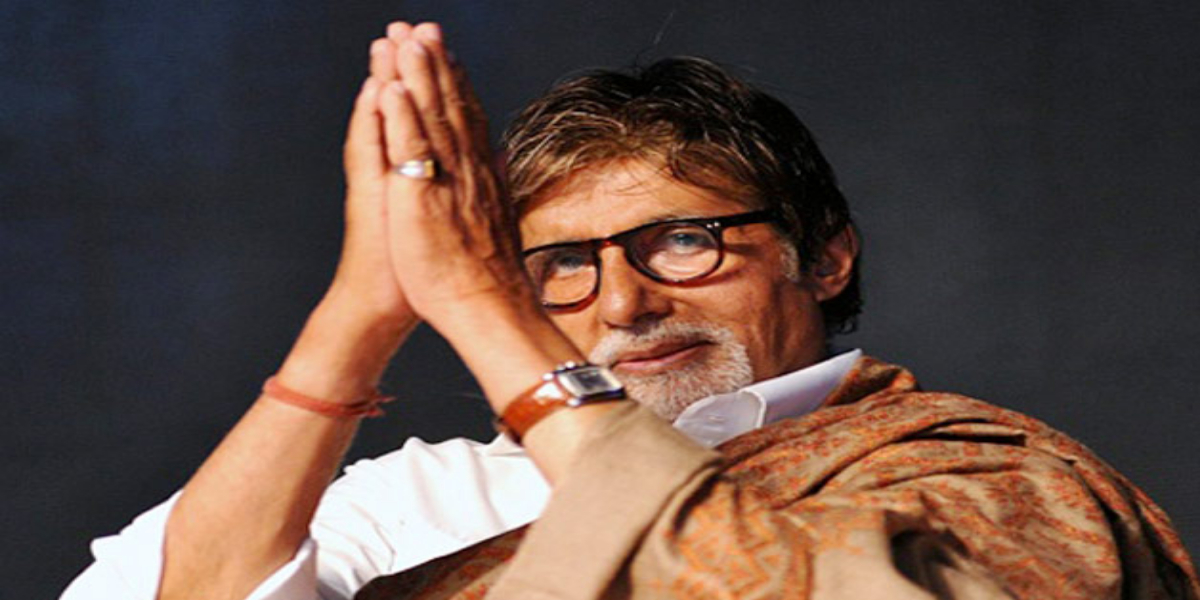 Amitabh Bachchan talks about water issues