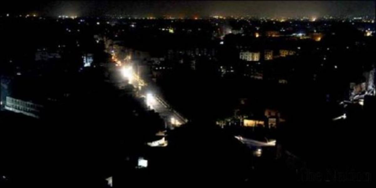 Karachi power outage
