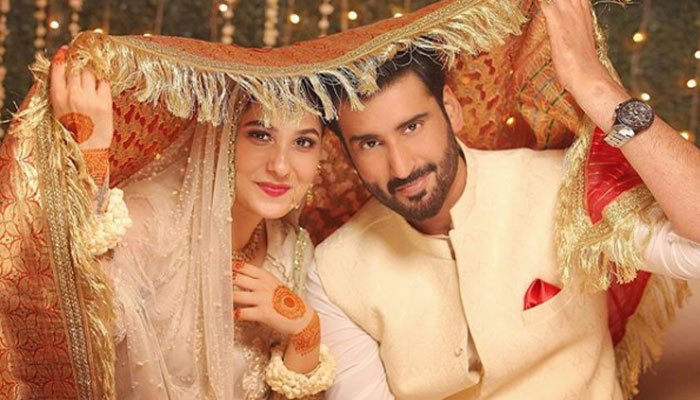 Hina Altaf and Aagha Ali