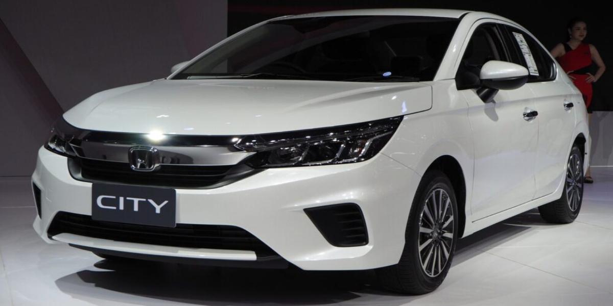 Honda City 6th generation in Pakistan