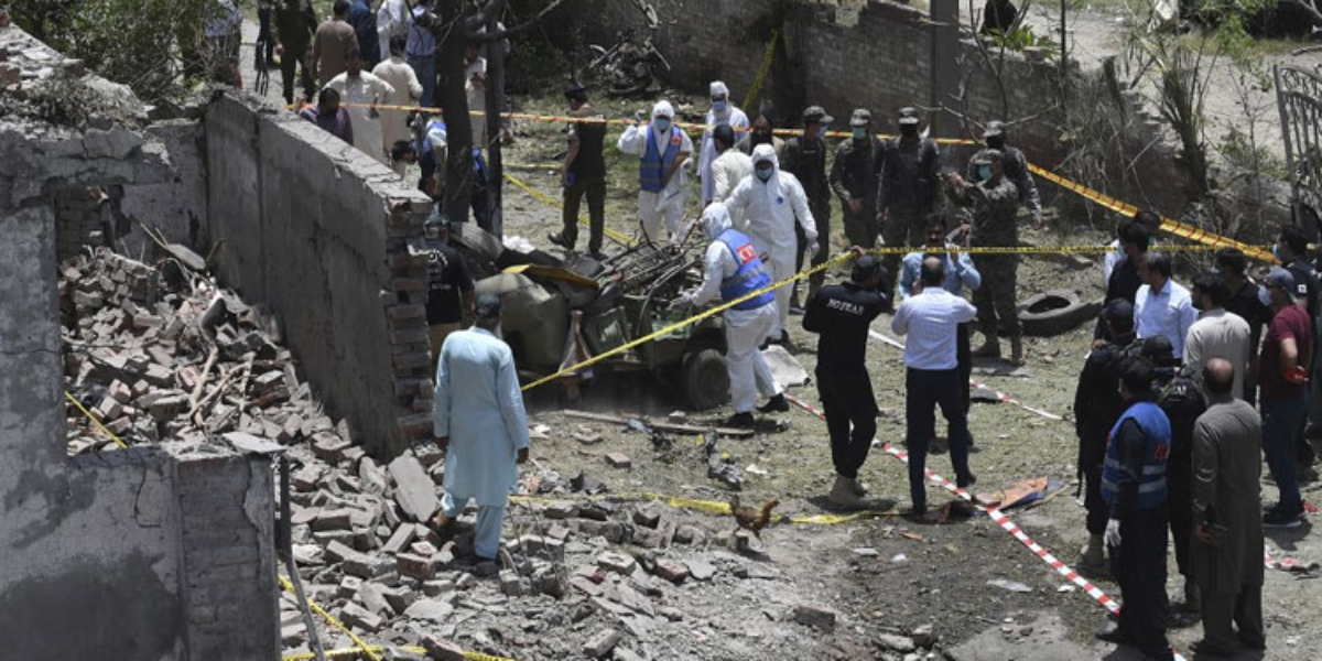 Johar Town Blast CTD Collects evidence