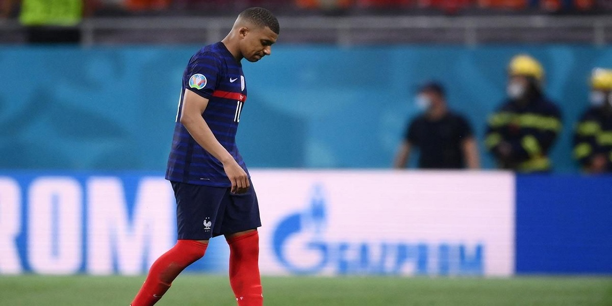 Mbappe apologises for missing the shootout as France exits Euro 2020