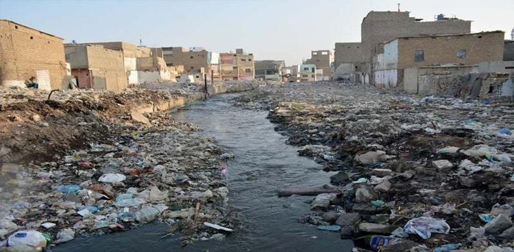 Karachi's 18 drains