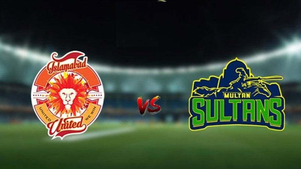 PSL 2021: Islamabad United Vs Multan Sultan In Qualifier