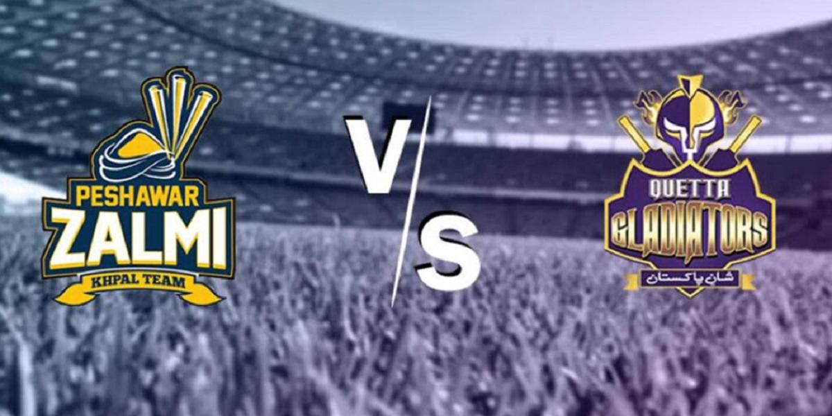 PSL 2021: Quetta Gladiators vs Peshawar Zalmi match today