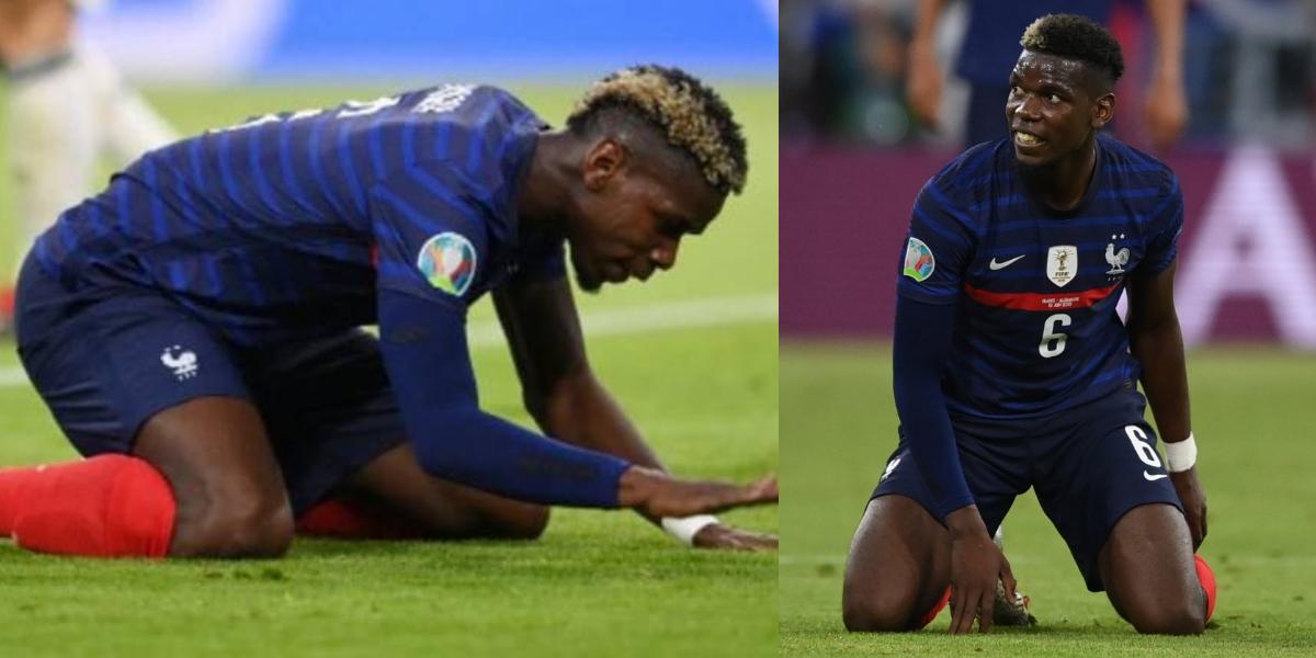 Paul Pogba Euro 2020 France knockout