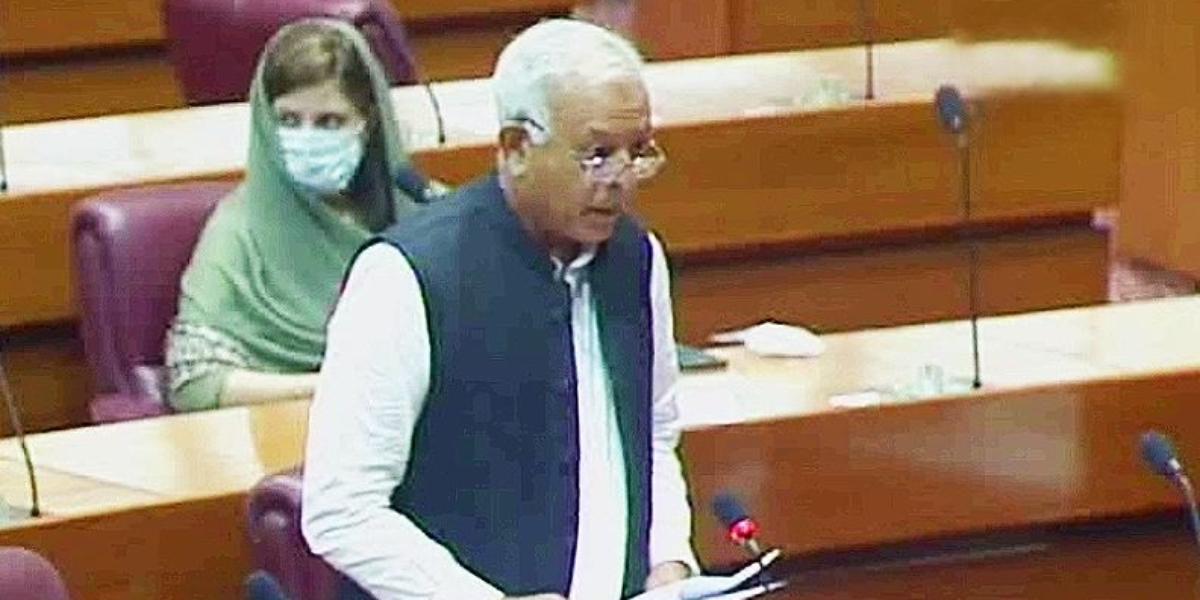 Ghulam Sarwar NA speech
