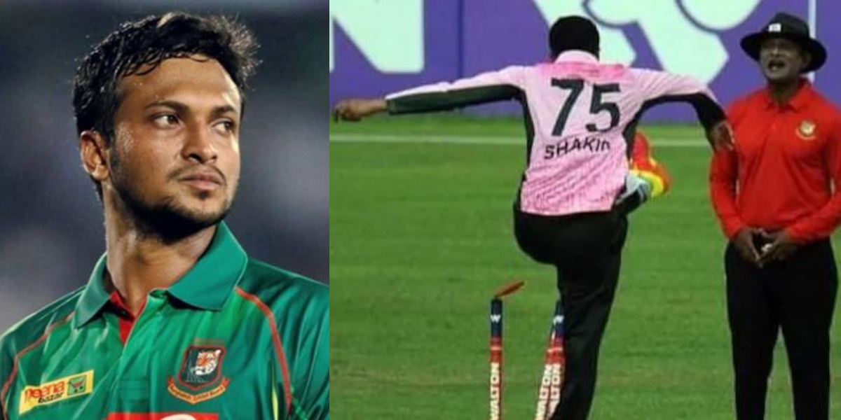 Shakib Al Hasan four-match ban