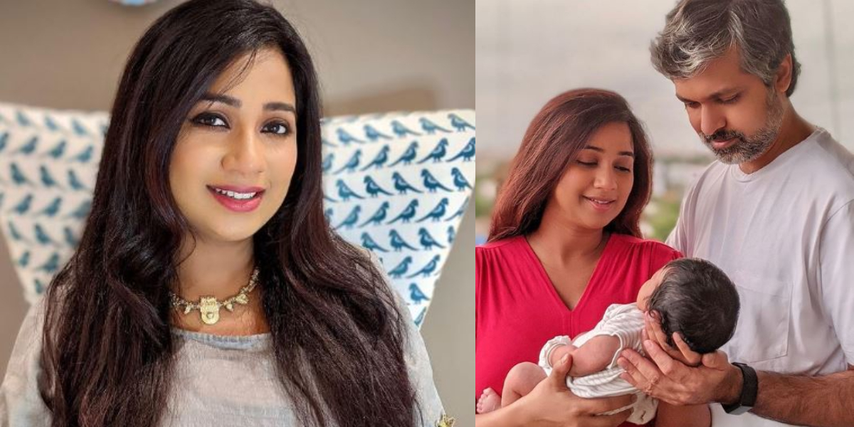 Shreya Ghoshal baby boy