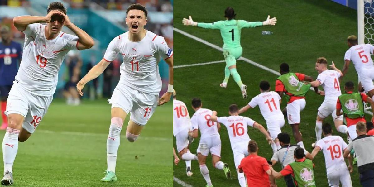 Euro 2020 Switzerland France victory