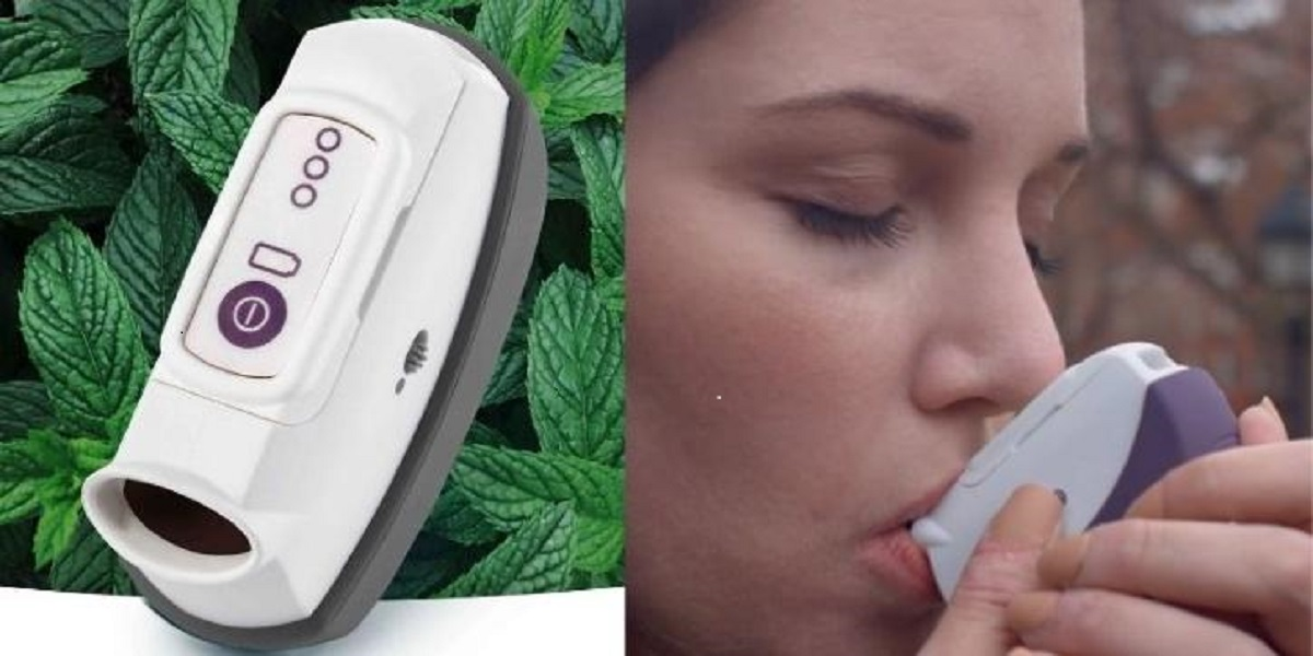 Without Using Drugs, This Handheld Inhaler Assists In Fighting Anxiety Attacks