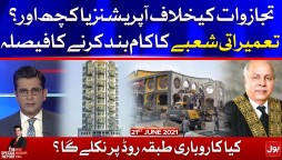 Builders Decision to Stop Construction Work Across Pakistan | Mudassir Iqbal | The Special Report | 21 June 2021 | Complete Episode