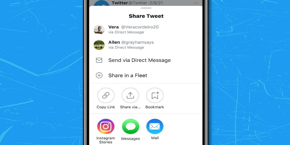 Twitter for iOS now let you to send tweets to Instagram Stories
