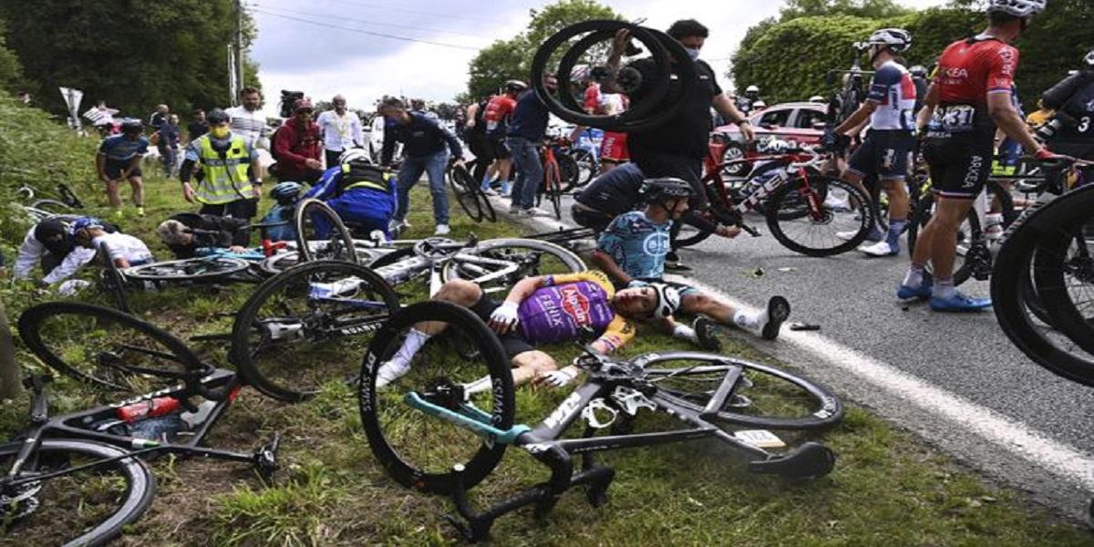 Spectator Who Caused Massive Crash At Tour De France Arrested