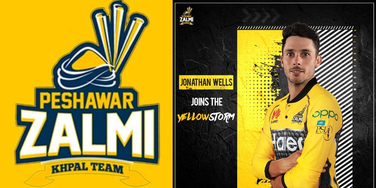 PSL 2021: Jonathan Wells joins Peshawar Zalmi In Place Of David Miller