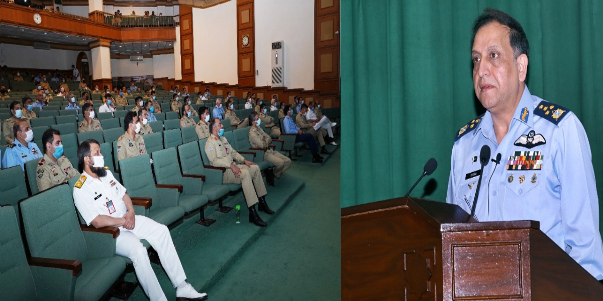 Air Chief visits National Defence University
