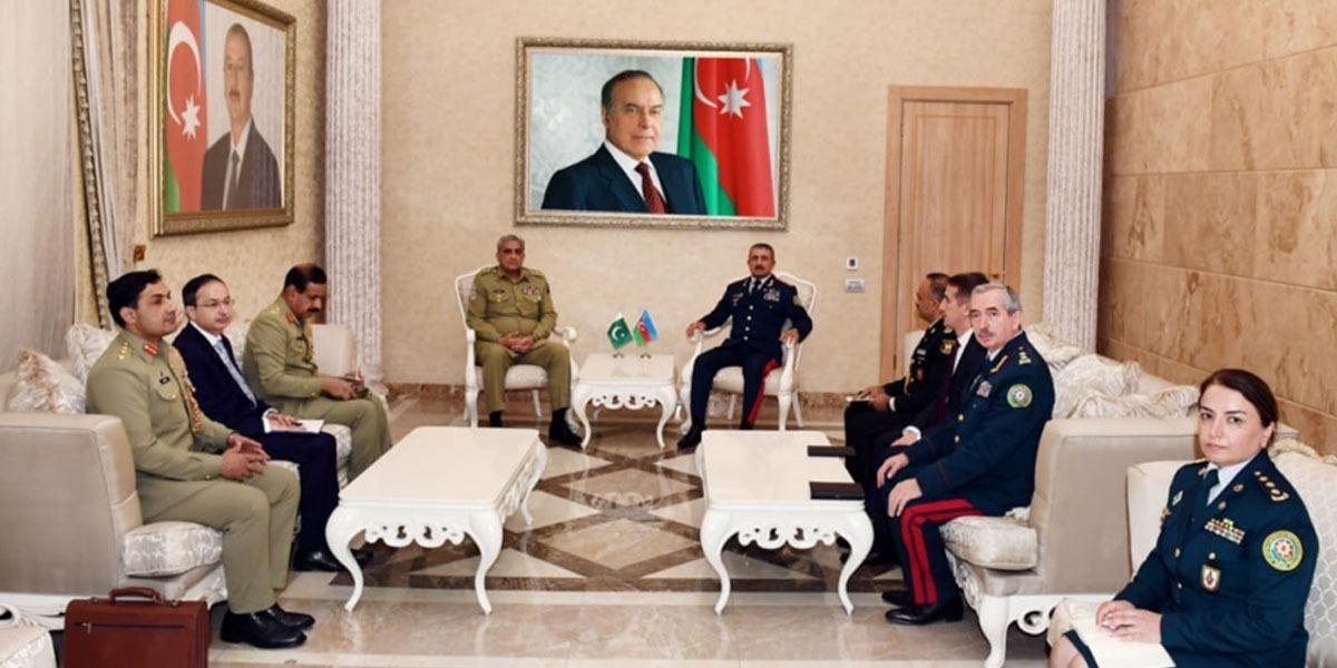 Pakistan Azerbaijan regional defence security