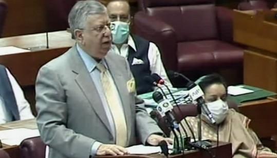 Shaukat Tarin Budget speech