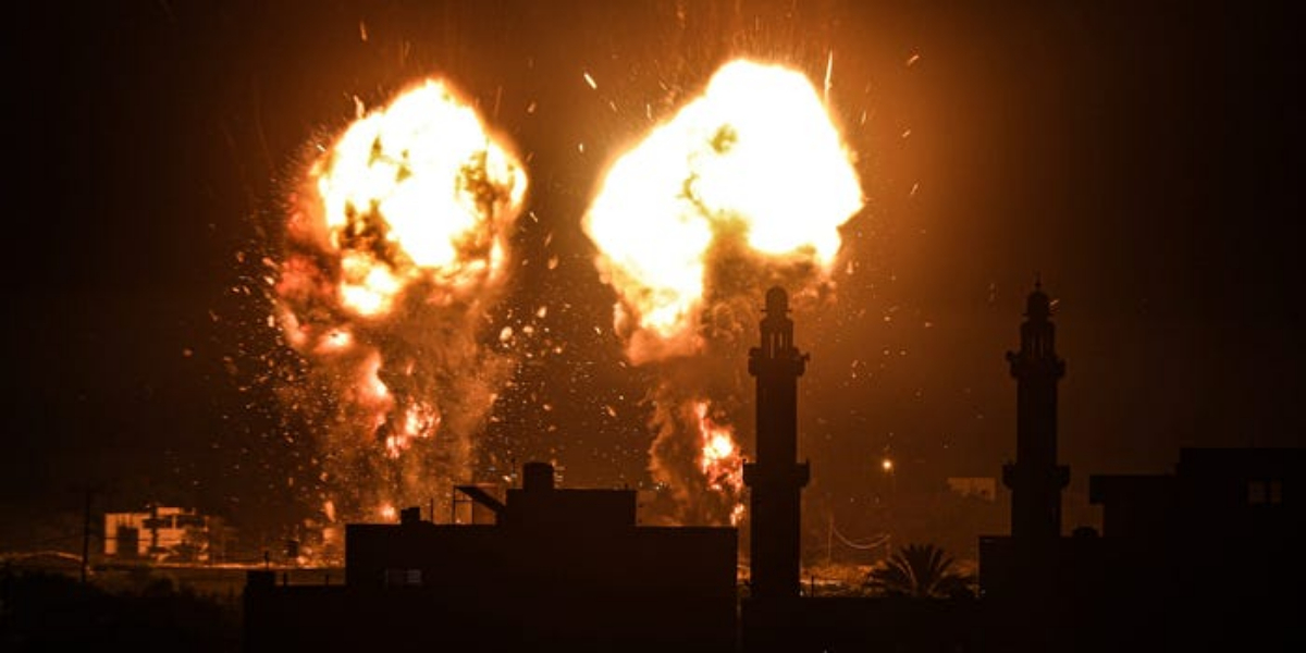 Gaza Once Again Under Attack Right After Naftali Takes Charge As Israeli PM