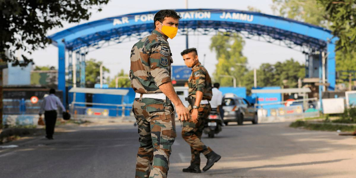 India: Two Explosions Rock Technical Area Of Indian Air Force Station