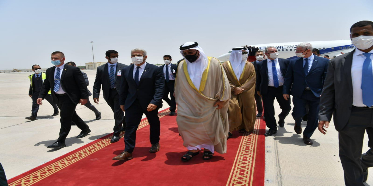 Israeli Foreign Minister Pays First Visit To UAE After Peace Deal