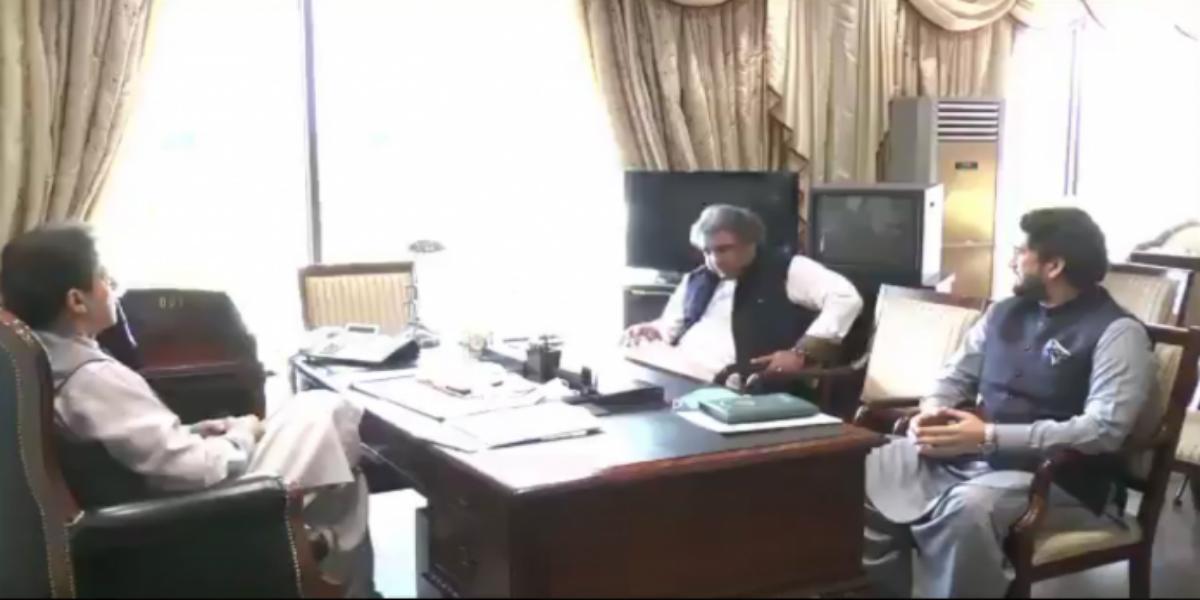 Shehryar Afridi Briefs PM Imran On Performance Of Kashmir Committee
