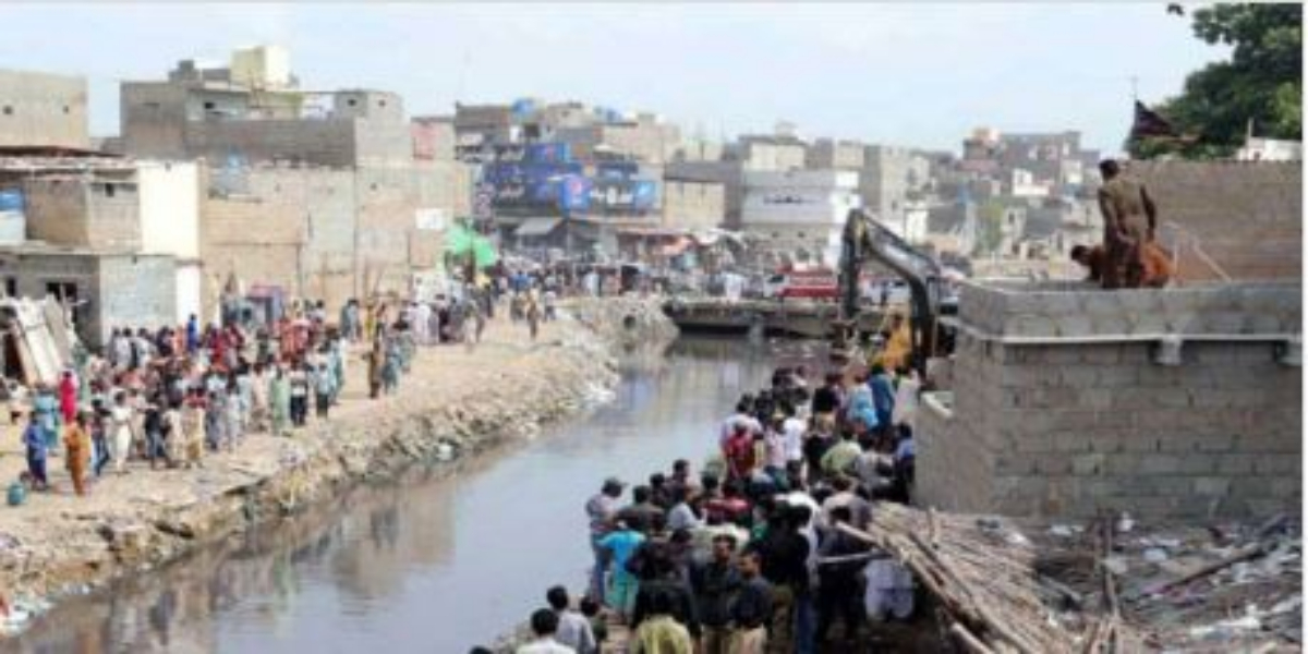 Monsoon Season: Desilting of Karachi's Major Drains Continues