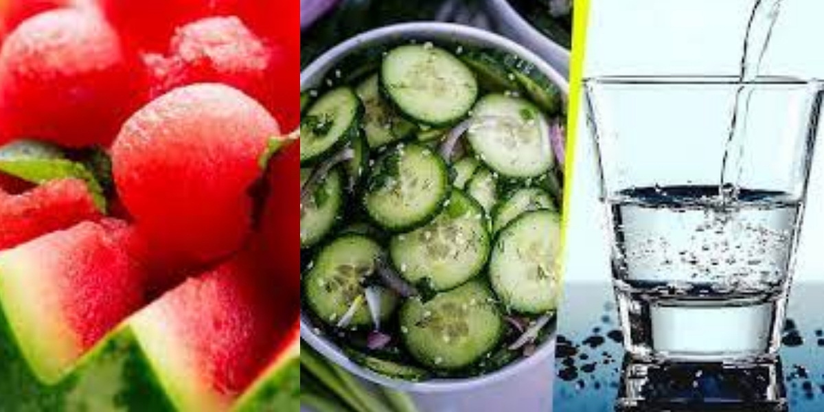 Can You Drink Water After Eating Cucumber And Watermelon?