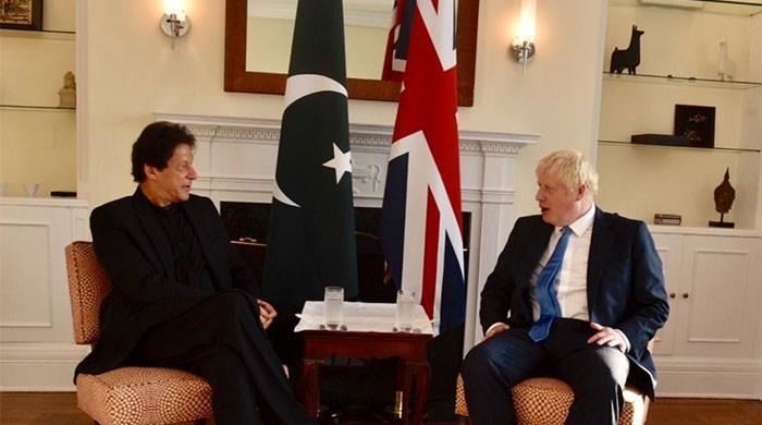 Boris Johnson telephone Imran Khan