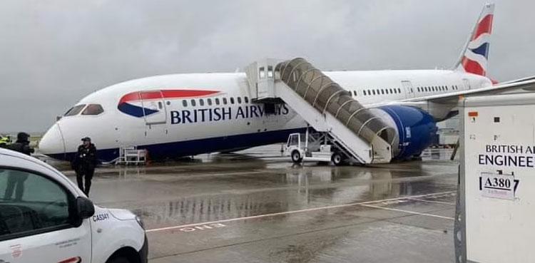 british plane
