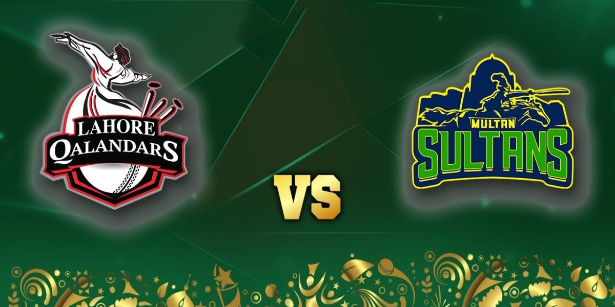 PSL 2021 Lahore Qalandars vs Multan Sultans