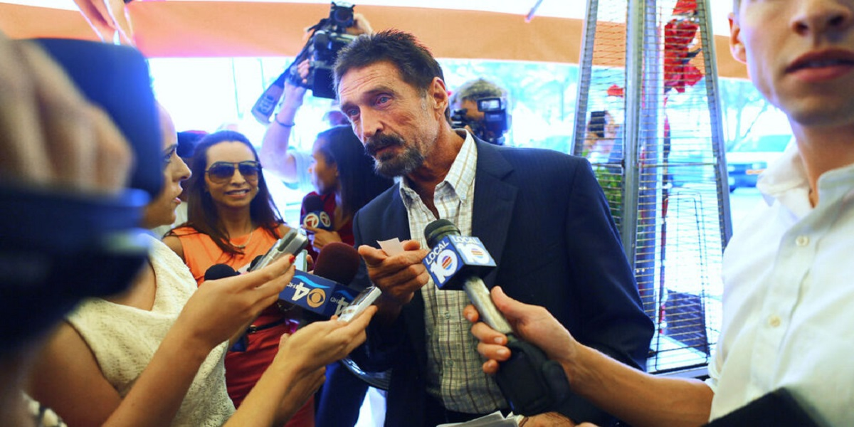 John McAfee, a renowned antivirus pioneer, found dead in prison