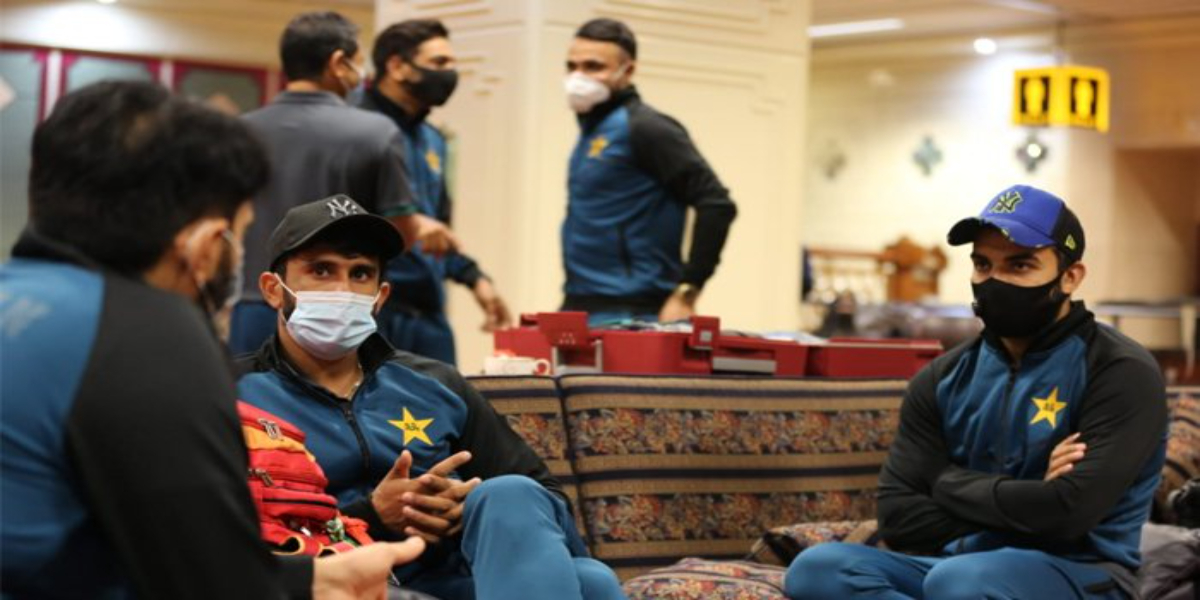 The Pakistan Cricket Squad Arrived In Birmingham, England