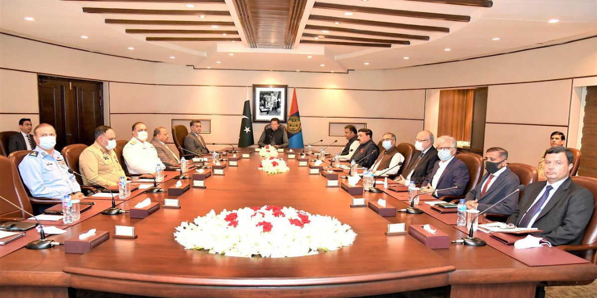 PM Imran ISI special meeting