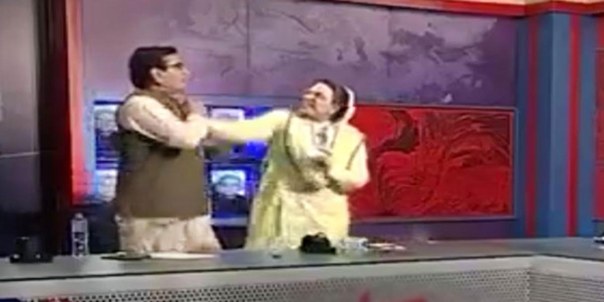 Qadir Mandokhel Firdous Ashiq altercation