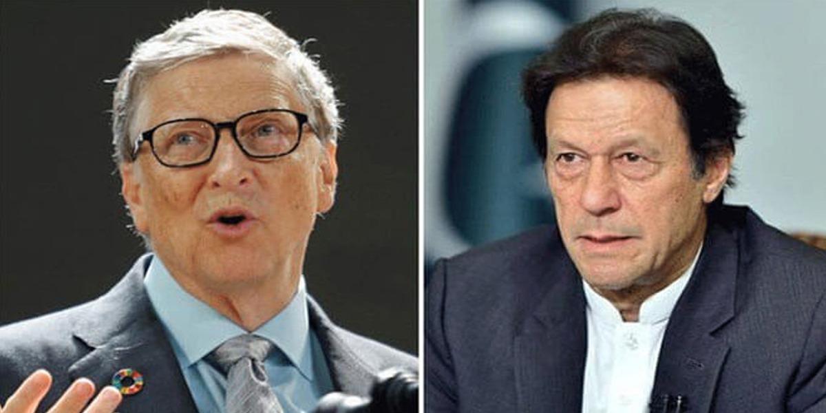 PM Imran Bill Gates phone call