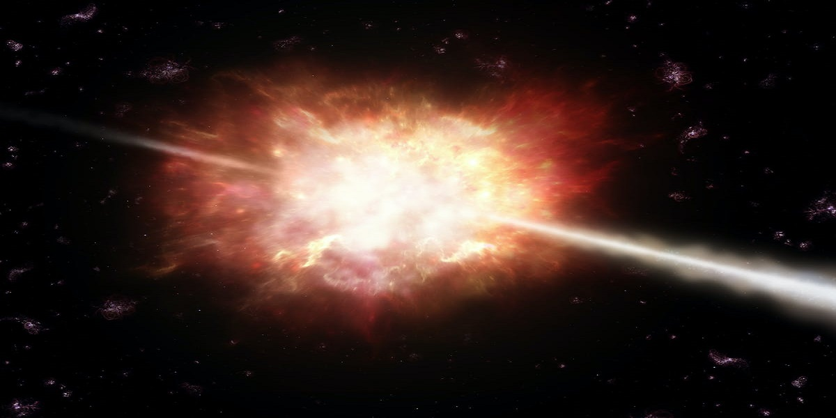 The energy of Extremely intense light from space is unparalleled
