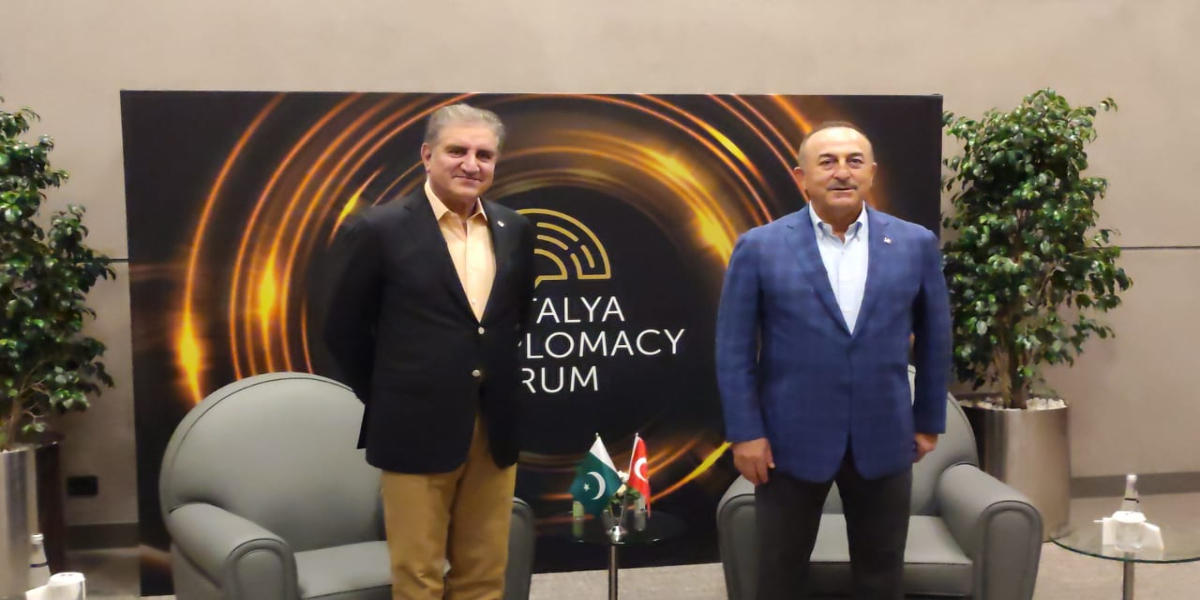 Qureshi meets Turkish Foreign Minister
