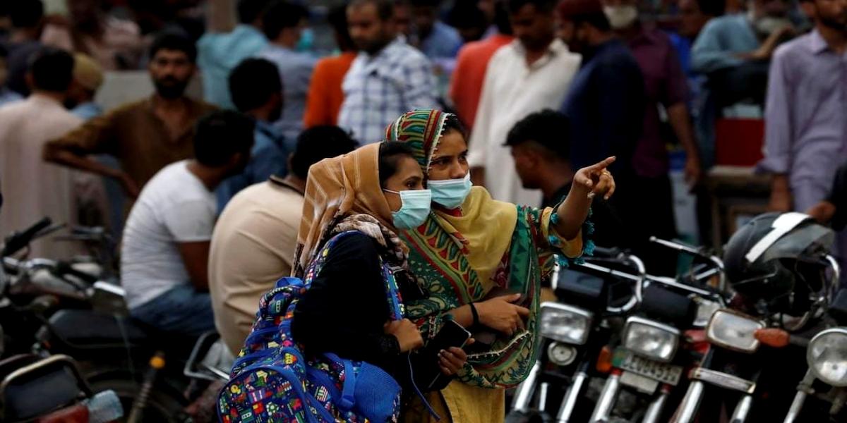 Pakistan COVID-19 Positivity Rate Falls To 1.7%
